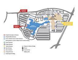 Parking Map Meritus Heath Center Hagerstown Md