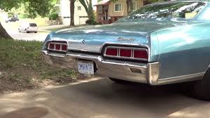 1967 Chevy Caprice vs 1967 Chevy Impala (the differences) - YouTube