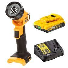 Dewalt 18v Light Details About Dewalt Dcl040n Cordless 18v Xr Light Torch Xr Pivot Head Battery Charger