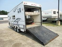 haylettrv 2003 l gator 210rr used toy hauler travel trailer by keystone rv