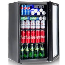 Vending Machine Fridge Impressive 48 Can Beverage Refrigerator Beer Wine Soda Drink Cooler Mini