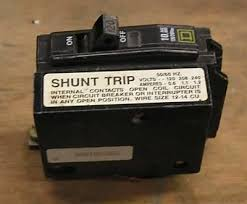 shared wiring wire shunt trip breaker diagramwire shunt trip shunt trip breaker wiring diagram on you can run a circuit through the contacts of the