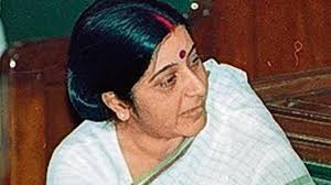 At 25 Sushma Swaraj Was A Haryana Mla India News Hindustan Times