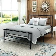 Metal Vintage Bed Frame Vintage Bed Frame Queen Modern Style Metal ...
