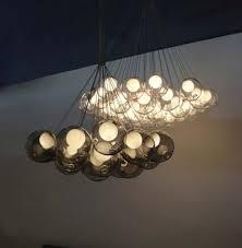 unique glass pendant lamp design by bocci chandelier light 5015101