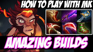 how to play with monkey king new hero build amazing buidls vol