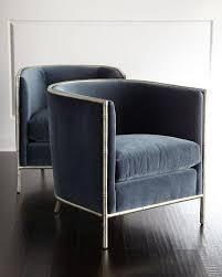 blue velvet accent chair. Blue Velvet Accent Chair V