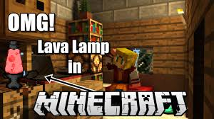 minecraft how to make a lava lamp