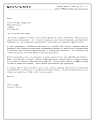 Cover Letter Example Of Cover Letters For Resumes Example Of Cover