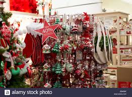 Christbaumschmuck Im Kaufhaus Macys In Der Florida Mall