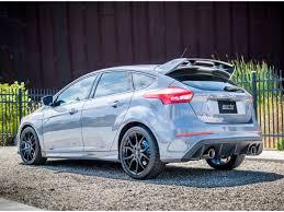 2016-2017 Focus RS Borla S-Type Cat-Back Dual-Exit Exhaust System ...