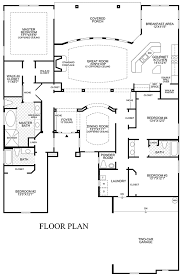 one story open floor plan design ideas