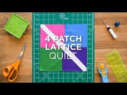 332 best Quilts - Missouri Star Quilt Company Tutorials images on ... & Make an Easy Four Patch Lattice Block - Quilt Snips (Missouri Star Quilt  Company - YouTube) Adamdwight.com