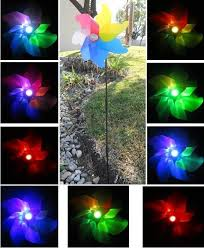 color changing solar garden lights.