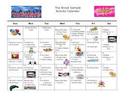 Activity Calendar Activity Calendar The Brook Retirement Communities 1