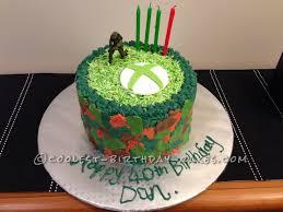 Coolest X Box One 40th Birthday Cake