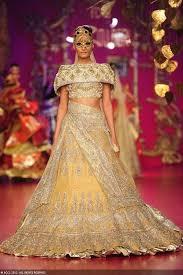 bold indian wedding reception dresses