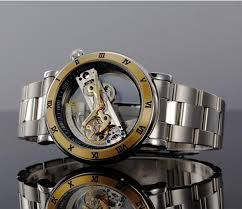 luxury brand watches mens mechanical hand winding transparent luxury brand watches mens mechanical hand winding transparent wristwatches gold relogio male automatic skeleton mechanical watch best watch deals waterproof