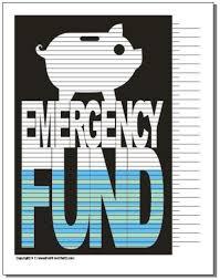 Free Printable Debt Free Charts Emergency Fund Savings Chart Best Credit Cards Debt