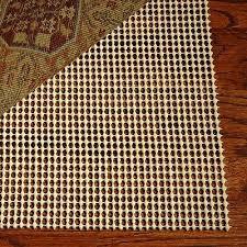 area rug pad 8x10 non skid slip underlay nonslip pads 8 x 11 large size