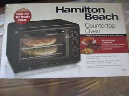 toaster oven hamilton beach hamilton beach 31101 large toaster convection rotisserie oven bake broil new 40094311019 toaster oven hamilton beach
