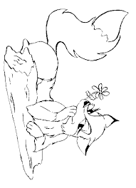 Small Picture Fox Coloring Free Animal Coloring Pages Sheets Fox Coloring Home