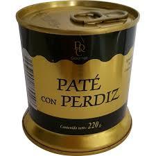 Buy Partridge pâté tin 220 g · REAL CAROLINA · Supermercado El ...