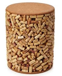 wine cork stool