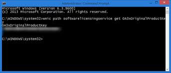 Find Windows Product Key Using Cmd Or Powershell