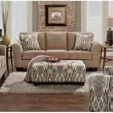 affordable furniture sensations red brick sofa. 5003 sofa chic mocha sofas stationary affordable furniture sensations red brick