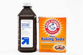 hydrogen peroxide baking soda