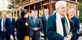 San Francisco welcomes President Sergio Mattarella
