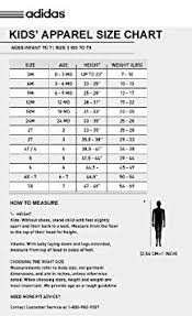 Adidas Youth Jersey Size Chart Adidas Youth Size Chart Clothing