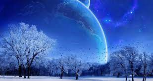 blue moon nature 4k ultra hd wallpaper ...