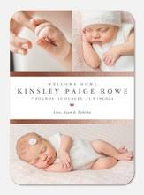 Sample Baby Announcement Birth Announcements Photoaffections