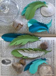 feather template paper feather template lia griffith