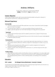 Skills And Accomplishments Resume Examples Example Skill Based Cv