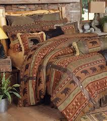 rustic cabin comforter sets bedrooms design ideas canadian log homes 19