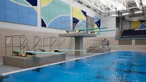 mansion with indoor pool with diving board. Six Diving Boards Including Two Three-meter Are Seen Monday, Nov. 27, 2017, In The Newly Opened Hulbert Pool West Fargo. Mansion With Indoor Board