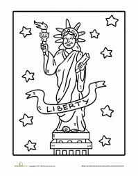 Small Picture Statue of Liberty Worksheet Educationcom