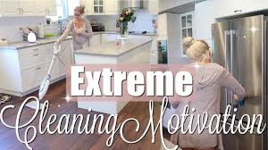 extreme clean with me kitchen living room deep clean beauty and the beastons 2018