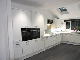 White Gloss Kitchen Cabinet Doors High Cabinets Prices Modern Design