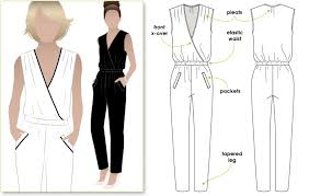 Jumpsuit Pattern Awesome Carly Jumpsuit Style Arc