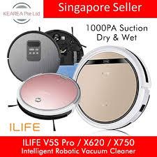 Qoo10 - ILIFE <b>V5s</b> Pro / X620 / X750 <b>Smart</b> Robotic Vacuum ...