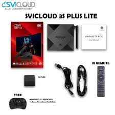 SVICLOUD 3 PLUS LITE - Android Box 2GB - 16GB - FREE MINI KEYBOARD |  DINOMARKET | Gadget & Electronic Premium Marketplace