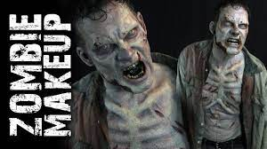 But if your look for tonight got caught up in the zombie apocalypse, don't leave the house until you've set off your costume with a trick that the walking dead's special effects makeup artist greg nicotero uses to help create decaying 'walker' skin. Walking Dead Zombie Makeup Tutorial Youtube
