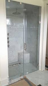 heavy glass frameless shower doors