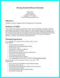 Caregiver Resume Sample Objective For A Nursing Resume Resume