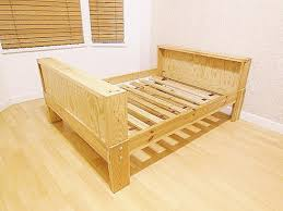 Ikea VIKARE Extendable Bed Frame - Soild Wood - Toddler to Twin ...