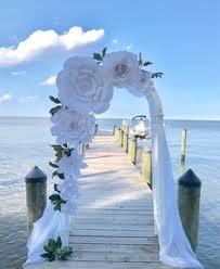 Paper Flower Archway 68 Best Wedding Pergola Images Wedding Decorations